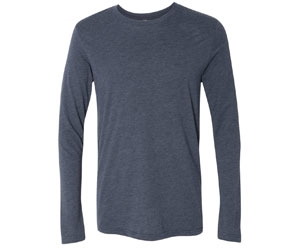 Next Level Men's Tridlend Long-Sleeve Crew