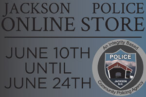 Jackson Police Dept. open June 10th to June 4th
